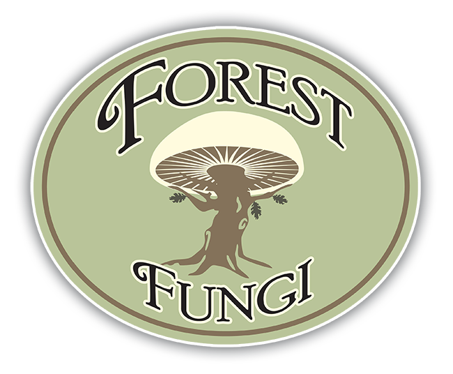 Forest Fungi Logo with a shadow