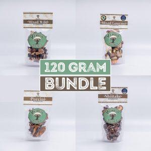 Dried Mushroom Bundle – 120g