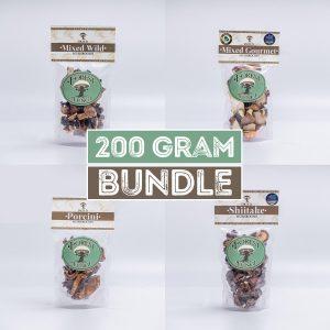 Dried Mushroom Bundle – 200g
